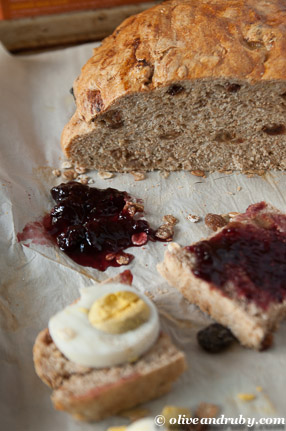 ... jam the result a deliciously nutty bread that disappeared in one day