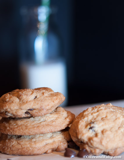 Chocolate Chip Cookies ©OliveandRuby.com