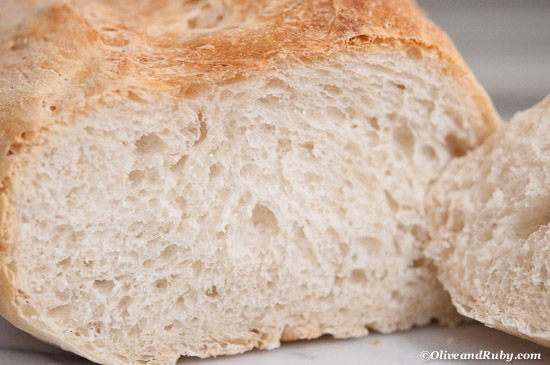 Pain sur Poolish ©OliveadnRuby.com