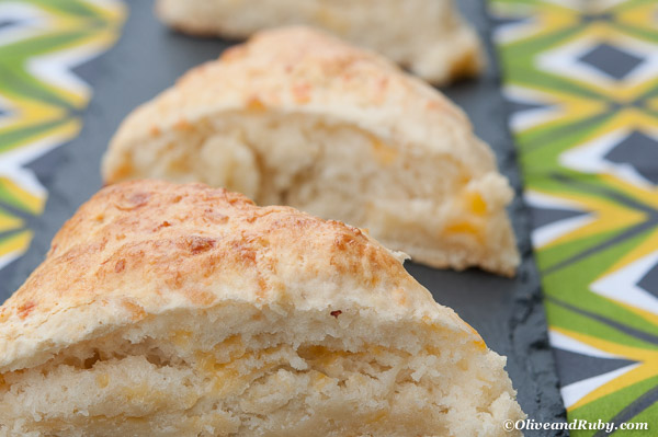 Cheese Scones ©OliveandRuby.com