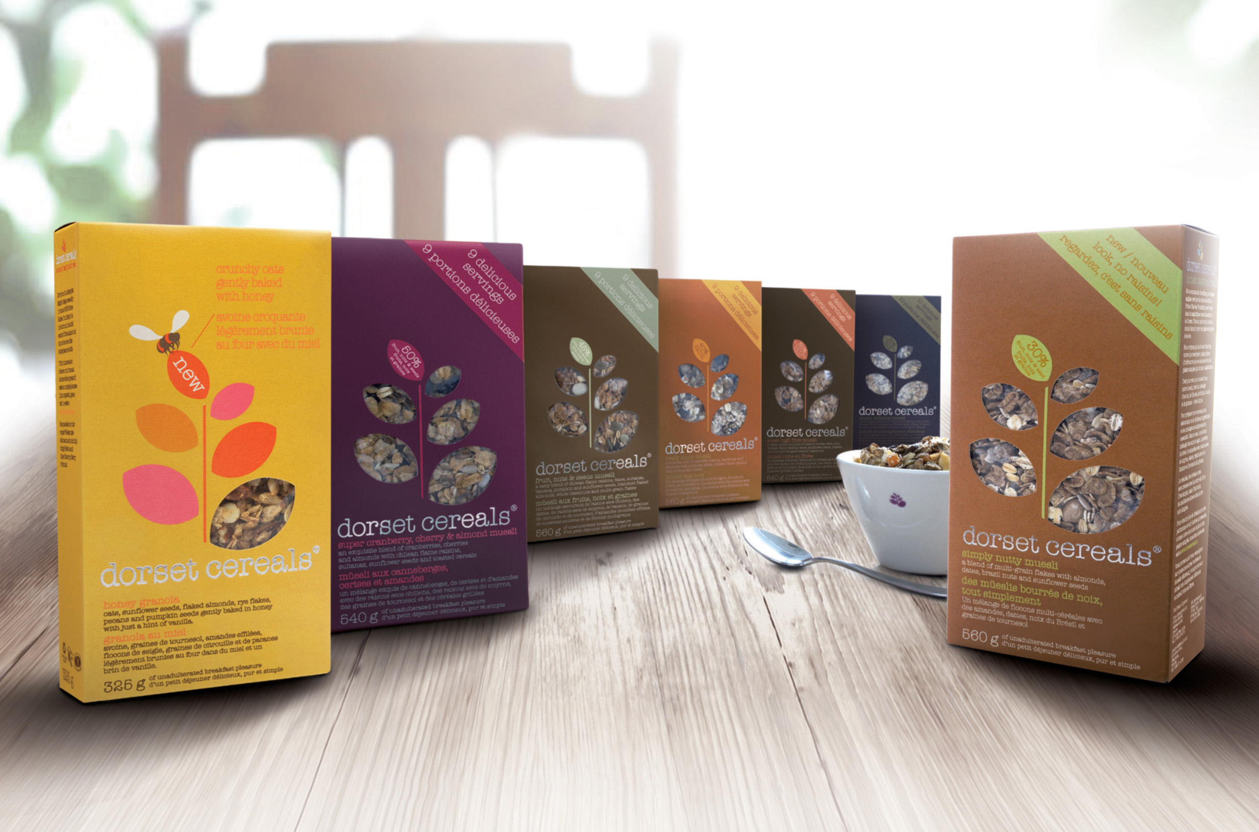 Dorset Cereal Product Line up